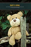 Diabetes Journal - Easy to Use Blood Sugar Logbook for Type 1 Diabetes (Glycemic Record / Blood Glucose Tracker) T1D - Teddy Bear Daily Diabetes Journal Logbook