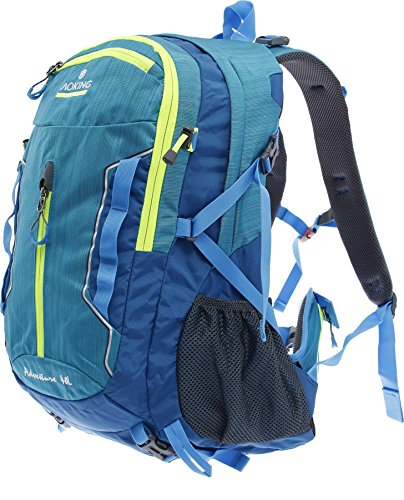 Multifunktionsrucksack Campus Daypack Rucksack City Rucksack/Schule Arbeit & Freizeit/Bag A / 4 Outdoor Schulrucksack (Blau)