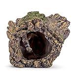 Hygger RéSine pour DéCoration Fish Tank, RéSine Naufrage Bois Aquarium Grotte Aquarium Decoration Cave Artificielles en pour Aquarium Ornements DéCor Accueil Jardin Plantes de Jardin (Bois) #3
