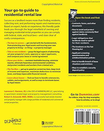 Landlord's Legal Kit For Dummies