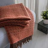 Coperta in lana vergine neozelandese