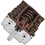 Placa eléctrica Conmutador 6 posiciones 0 scholtes DR12XA ci66 Vw horno