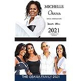"""2021 - オバマファミリー """"ツインパック"""" 13ヶ月カレンダー"""