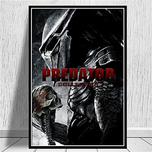 ThinkingPower Cuadros Decorativos Monster Movie Arnold Schwarzenegger The Predator Art Poster y Printss Wall Art Pictures 60x90cm