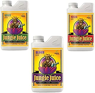 Advanced Nutrients Jungle Juice Trio (Grow, Micro, Bloom) 1 L Cada