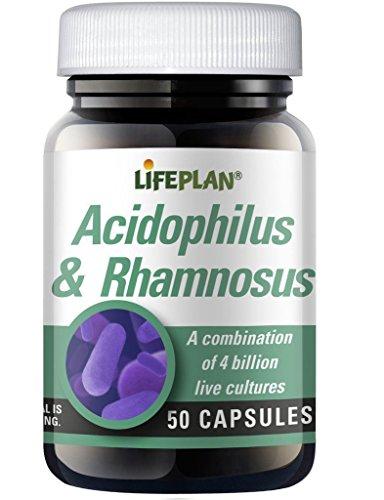 Lifeplan Lactobacillus acidophilus & rhamnosus | 50 capsules