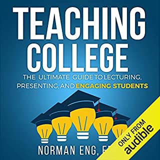 Teaching College audiobook cover art