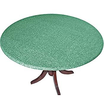 Go Granite Fitted Tablecover  Table Cover Tablecloth   with The Look of Polished Granite Green