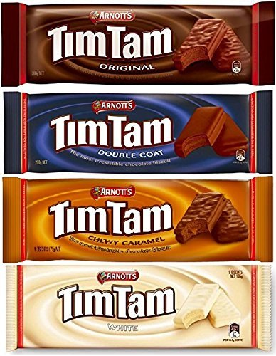 Tim Tam Sampler (Original, Double Coat, Caramel, White