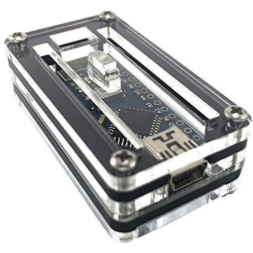 Arduino Nano Zebra Schwarz Ice Case von c4labs