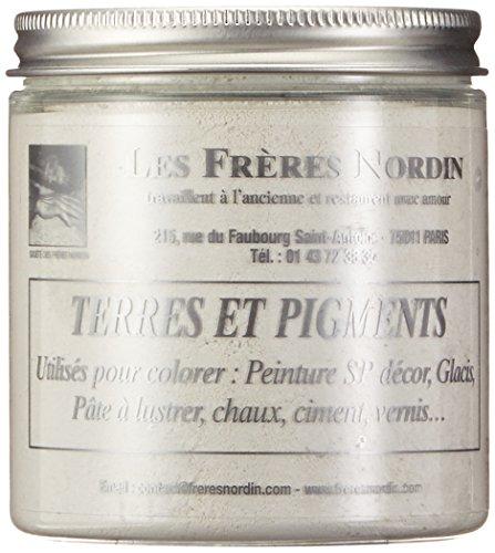 Les Frères Nordin 418256 Terre Pigment Blanc de Titane