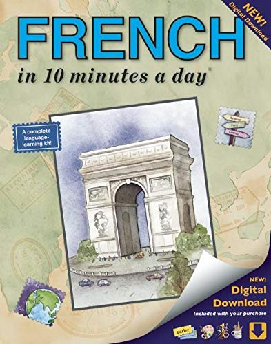 FRENCH in 10 minutes a day®: Language Course for Beginning and Advanced Study. Includes Workbook, Flash Cards, Sticky Labels, Menu Guide, Software, ... Grammar. Bilingual Books, Inc. (Publisher)