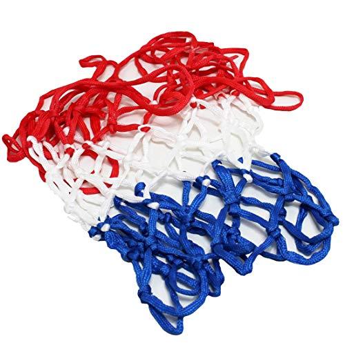 Panier filet de panier de basket en maille filet de protection 5 mm, trou de 12 couleurs 3 extra épais, land-haus-shop