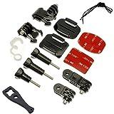 Kit de montaje de la bolsa de agarre micros2u Compatible con GoPro HD Hero 3 3 + 4 5 6 7 Accesorios para cámaras