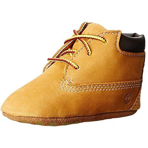 Timberland Unisex Baby Chukka Boots mit Hut , Gelb (Wheat), 18 EU