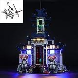 YLJJ Juego de Luces LED USB DIY Compatible con Lego Ninjago Movie Temple of The Ultimate Ultimate Weapon 70617, Kit de luz LED para Bloques de construcción Modelo Niños Incluido el m