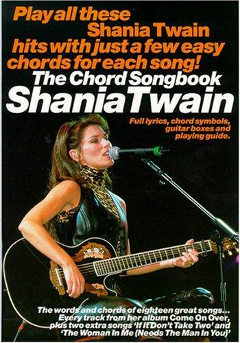 Shania Twain Chord Songbook