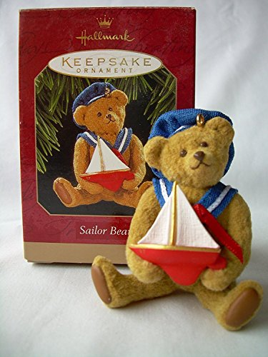 Hallmark Keepsake Ornament Sailor Bear 1997