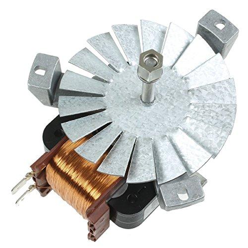 Genuine Indesit Forno Cappa ventilatore e motore Unità FDE10 (WH) GB FDE10IXGB