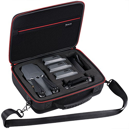 Smatree Hard Carrying Case Compatible for DJI Mavic Platinum/DJI Mavic Pro Fly More Combo(Not fit for Mavic 2 pro/2 Zoom)