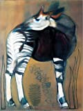 Poster 50 x 70 cm: Okapi von Mark Adlington/Bridgeman