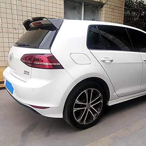 Spoiler Posteriore alettone Posteriore per Auto in Materiale ABS di Alta qualità per VW Golf 7 7.5 Rline MK7 7.5 GTI R 2014-2020, Coda Decorazione Accessori Auto