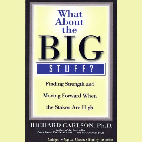 What About the Big Stuff? audiobook cover art