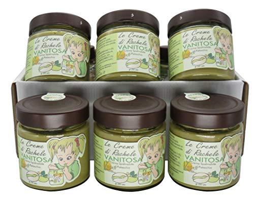 Vanitosa Vegan - 6 vasetti da 200g (1,2 Kg totali di prodotto) - Senza Lattosio, senza olio di palma, senza glutine - Adatta ad una dieta vegana - Made in Italy.
