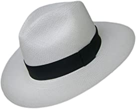 Gamboa Genuine Unisex Sun Hat Summer Beach Straw UPF 50 Fedora Panama Hat