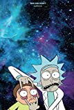 Rick and Morty Notebook: psychedelic lover lovely Composition Notes Lined Notebook