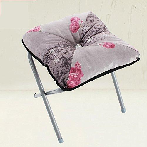 Xin-stool Portable Klappstuhl/Outdoor kleine Bank/Change Schuhe Hocker, faltbar, weich und komfortabel (Farbe : M)