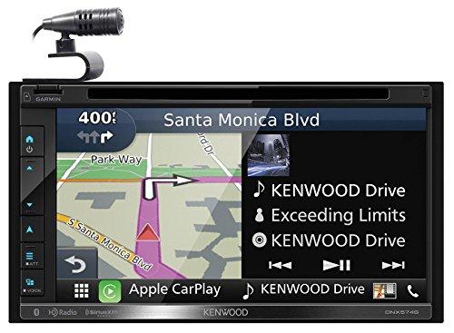 Kenwood DNX574S 2-Din AV Navigation System with Bluetooth & HD Radio