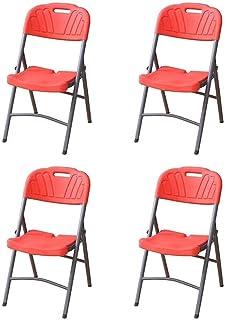 Amazon.es: sillas rojas - Sillas de comedor de jardín ...