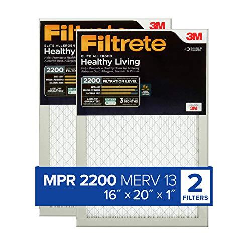 Filtrete 16x20x1, AC Furnace Air Filter