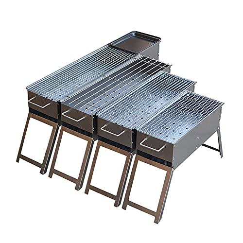 URINGO Holzkohlegrill tragbar, Grill, Home Charcoal Grill, zum Grillen im Freien Tragbarer Grill Holzkohle für Picknick, Terrasse und Gartengrill