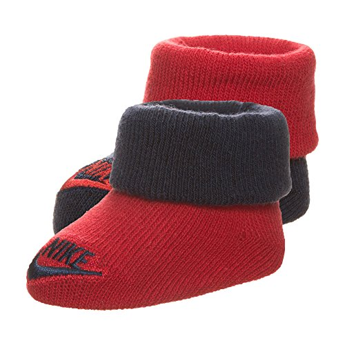 Nike Baby Futura Söckchen, Mehrfarbig (rot), 0-6 Monate