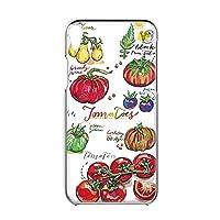 Xperia Z5 Premium SO-03H 用 すまほケース ハードケース [オーガニック・トマト Tomato] イラスト ベジタブル SONY ソニー エクスペリア ゼットファイブ プレミアム docomo すまほカバー 携帯ケース 携帯カバー [FFANY] garden_00z_h149@01