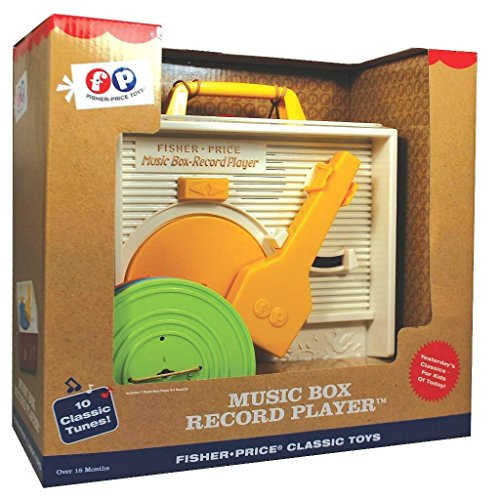 Fisher-Price Classic Music Box Record Player
