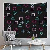 PPOU Giocatori Stampa tappeto arazzo appeso a parete casa Camera da letto decorazione murale sfondo panno appeso coperta di stoffa A3 73x95 cm