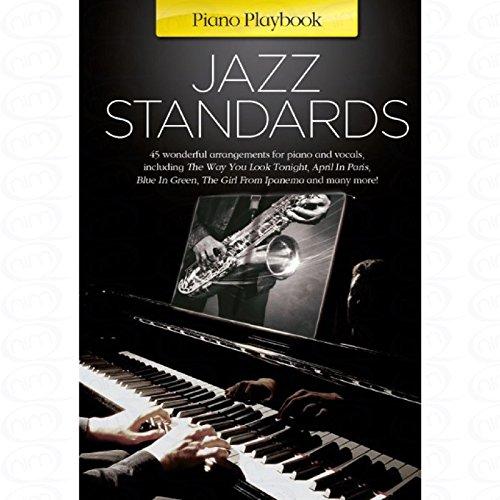 JAZZ STANDARDS - arrangiert für Klavier [Noten/Sheetmusic] aus der Reihe: Piano Playbook