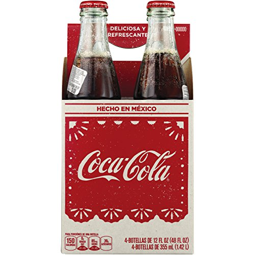 Coke De Mexico Mexican s, 12 Fl Oz (pack of 4)