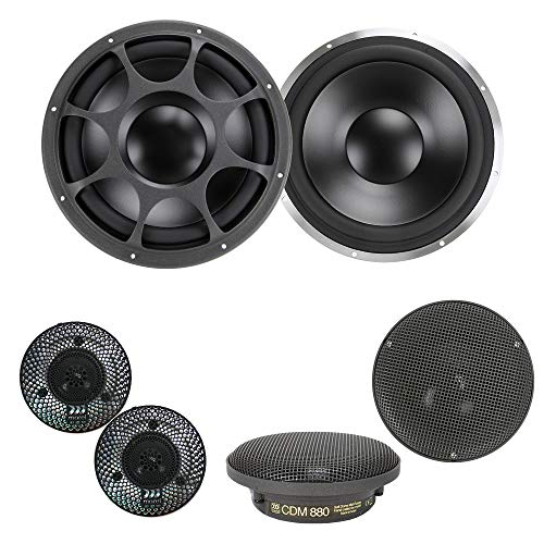 "Morel Elate Ti 903 Active Pro 8-3/4"" 3-Way Component Speakers w/Piccolo Supremo Tweeters"