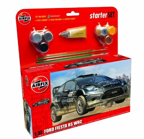 Airfix A55302 Ford Fiesta WRC 1:32 Scale Model Large Starter Set by Airfix