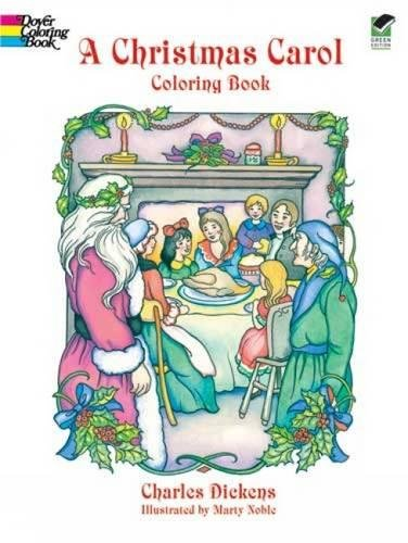 A Christmas Carol Coloring Book
