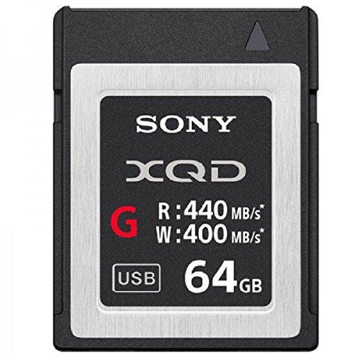 Sony-Speicherkarte aus der QDM-Serie schwarz / silberfarben 64 GB