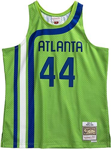 Pete Maravich Atlanta Hawks 1970-71 Swingman Jersey (Medium)