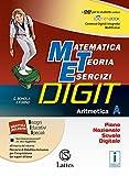 Matematica teoria esercizi digit. Aritmetica A. Tavole numeriche-Mi preparo-Quaderni. Per la Scuola media. Con DVD-ROM. Con e-book. Con espansione online (Vol. 1)