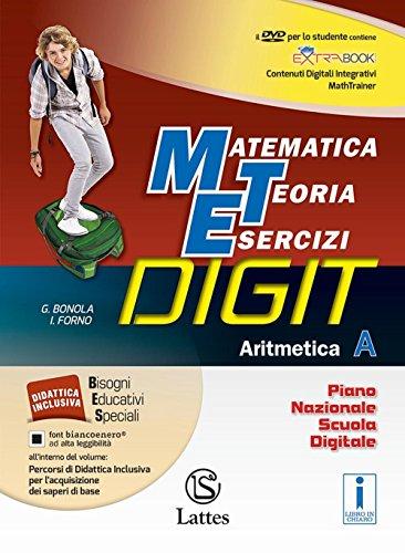 Matematica teoria esercizi digit. Aritmetica A. Tavole numeriche-Mi preparo-Quaderni. Per la Scuola media. Con DVD-ROM. Con e-book. Con espansione online: 1