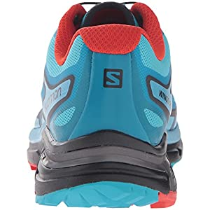 Salomon Women's Wings PRO 2 W Trail Runner, Jay/Fog Blue/Lava Orange, 6 M US