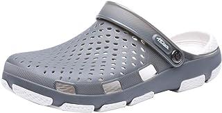 Mens Womens Clogs Lightweight Garden Water Beach Shoes Summer Slippers Sandals